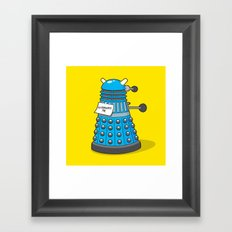 Exterminate Me Variant (Dr Who) Framed Art Print