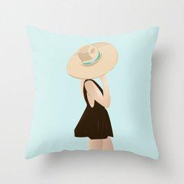 BEACHY Throw Pillow