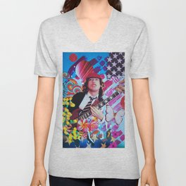 Angus Young Unisex V-Neck