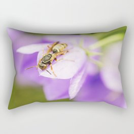 Paper Wasp 4 Rectangular Pillow