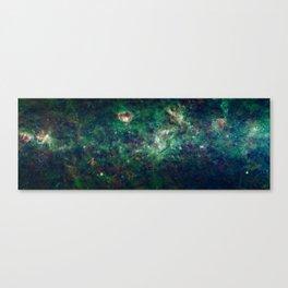 The Milky Way Galaxy by NASA Canvas Print