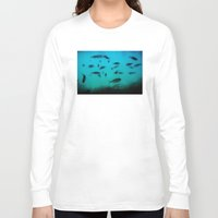 underwater Long Sleeve T-shirts featuring Underwater by Situs