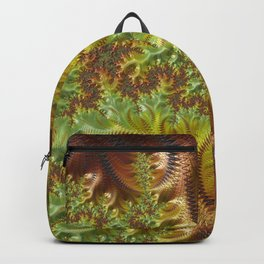 Fall Days - Fractal Art Backpack