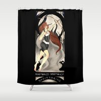 sagittarius Shower Curtains featuring Sagittarius by Sprat