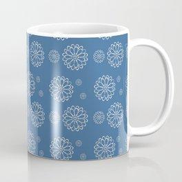 Frost Flower Pattern Coffee Mug