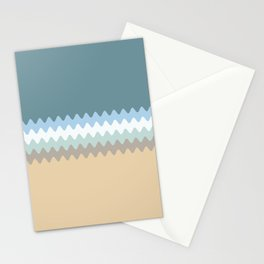 Beach Color Combo Stationery Cards