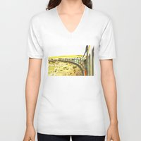 train V-neck T-shirts featuring Train by Mr and Mrs Quirynen