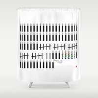 mandela Shower Curtains featuring Mandela  by Keep It Simple