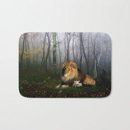 Lion and Lamb Bath Mat