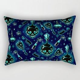 Elements of a Noir Boudoir Rectangular Pillow