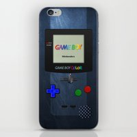 gameboy iPhone & iPod Skins featuring GAMEBOY COLOR by Smart Friend