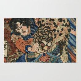 Utagawa Kuniyoshi - Tiger. Rug