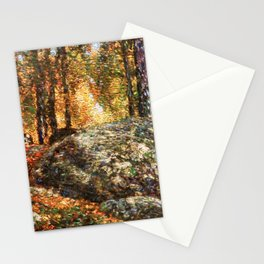 12,000pixel-500dpi - Frederick Childe Hassam - The Jewel Box, Old Lyme - Digital Remastered Edition Stationery Cards