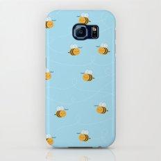 Kawaii Buzzy Bumble Bees Galaxy S6 Slim Case
