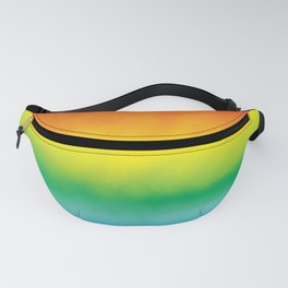 Watercolor Rainbow Fanny Pack