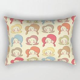 Girls, Girls, Girls Rectangular Pillow