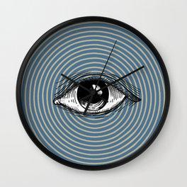 Pop Art Eye Wall Clock