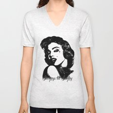 Love Struck sketchy Marilyn.  Unisex V-Neck