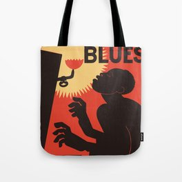 Retro The Weary Blues (music) Tote Bag