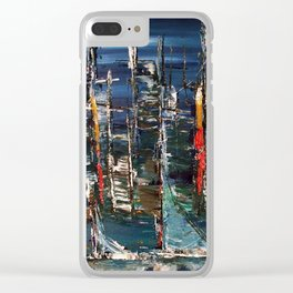 Lake Wilder Clear iPhone Case