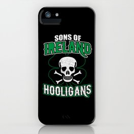 Sons Of Ireland Vintage iPhone Case