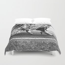 Fast as you can Duvet Cover