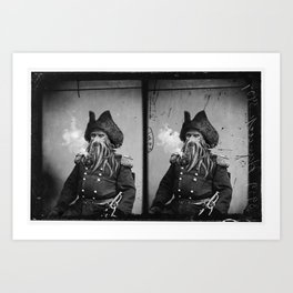 Wartime Icon:1860-1890. Untitled 4 Art Print