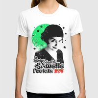 amelie T-shirts featuring Amelie Pountain by Pablo Napo