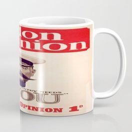 Vintage poster - Your Country Needs You Coffee Mug