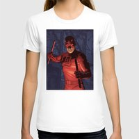 daredevil T-shirts featuring Daredevil by Arne AKA Ratscape