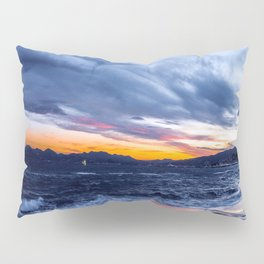 Stormy Cannes Pillow Sham