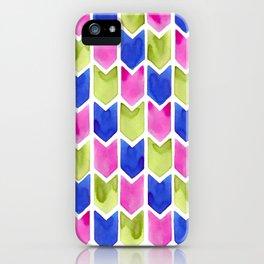 Arrow Multicolor iPhone Case