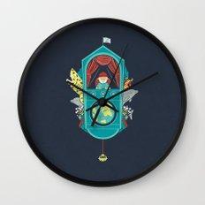 Aquatic Adventurer Wall Clock