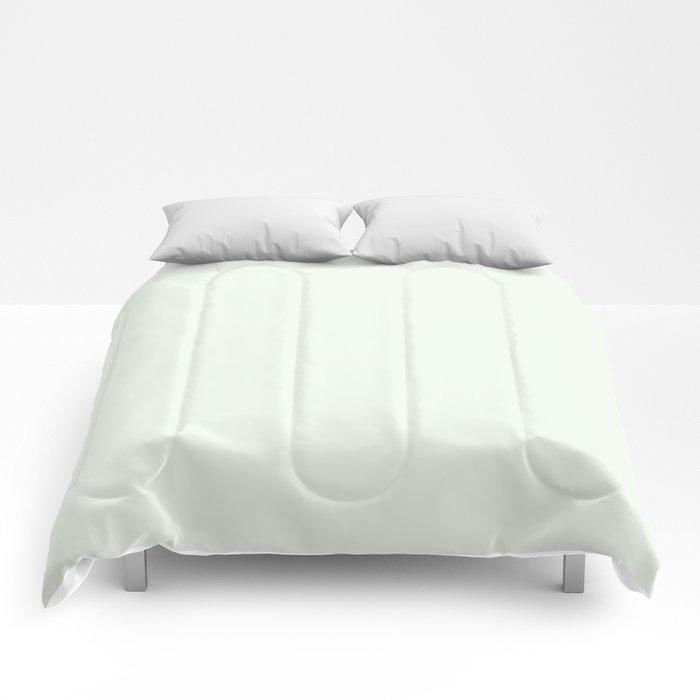Behr Unwind (Soft Pastel Green) GR-W05 Solid Color Comforters