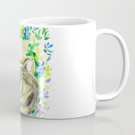 Sleepy baby squirrel Coffee Mug