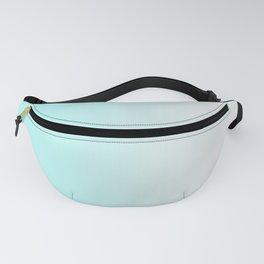 Aqua Ombre Fanny Pack