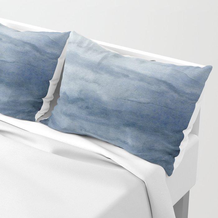 Indigo Abstract Painting | No.2 Pillow Sham