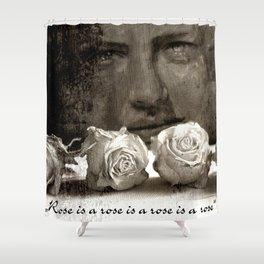 ROSE - vintage version Shower Curtain