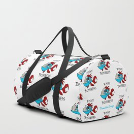 Fishy Business - Pattern Duffle Bag