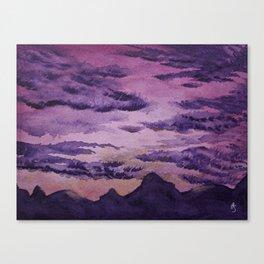 Let the Sun Rise Canvas Print