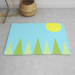 Sunny Day Happy Painting | For kids! Rug
