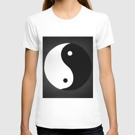 Yin and Yang BW T-shirt