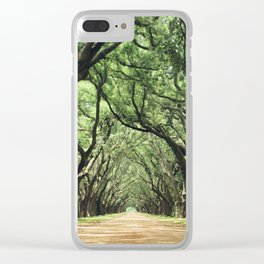 Canopy of Oaks Clear iPhone Case