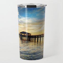 Biloxi Bay Sunset Travel Mug