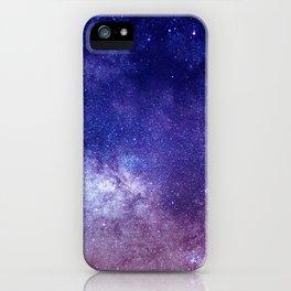 STARS - NIGHT - GALAXY - PURPLE - PINK - INDIGO iPhone Case