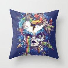 Strangely familiar Throw Pillow