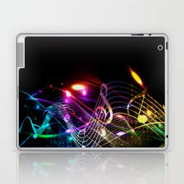 Music Notes in Color Laptop & iPad Skin