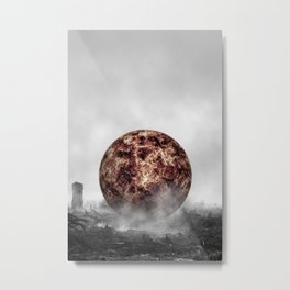 Sunburned Forest Metal Print
