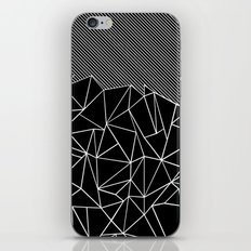 Ab Lines 45 Black iPhone Skin
