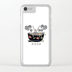 OISHII Noodle Bowl Clear iPhone Case